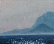 """Greek Islands IV, 8"""" X 10"""", Oil on Belgian Linen"""