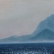"Greek Islands IV, 8"" X 10"", Oil on Belgian Linen"