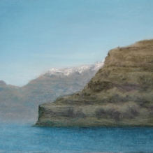"Greek Islands II, 14 X 18"", Pastel on Paper. Status: Available"