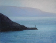 "Greek Islands I , 14 X 18"", Pastel on Paper. Status: Available"