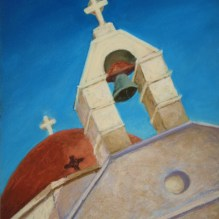 """Between Earth and Heaven, 16"""" X 12"""" Pastel on Paper. Status: SOLD"""