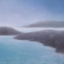 "Greek Islands III, 8 X 10"", Pastel on Paper. Status: Available"