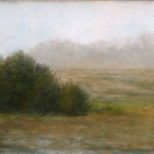 "Meadows, 8 X 10"", Pastel on Paper. Status: Available"